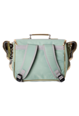 Caramel & cie Mini winged green schoolbag