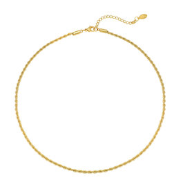 With love Necklace 'Like a boss' gold