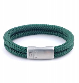Steel & Barnett Rope bracelet Lake - Green - Size M