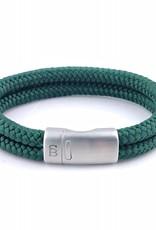 Steel & Barnett Rope bracelet Lake - Green - Size S