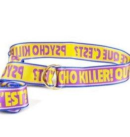 Psychokiller purple belt