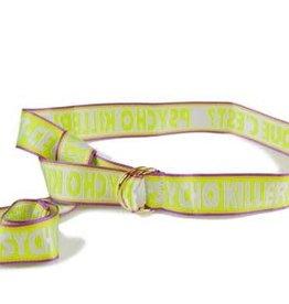 Psychokiller Antwerp Psychokiller yellow belt