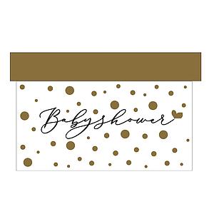 Mail-Box Moneybox - Babyshower 30 x 22 x 18 cm