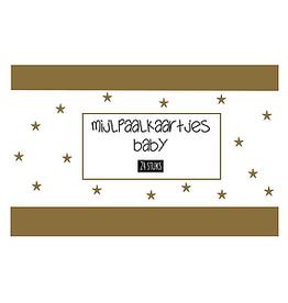 Mail-Box Mijlpaalkaartjes - Baby 24 stuks