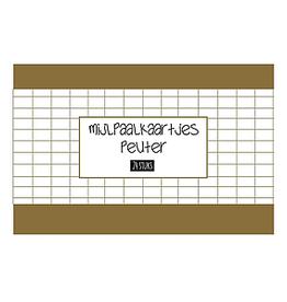 Mail-Box Mijlpaalkaartjes - Peuter 24 stuks