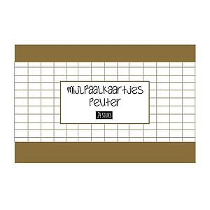 Mijlpaalkaartjes - Peuter 24 stuks