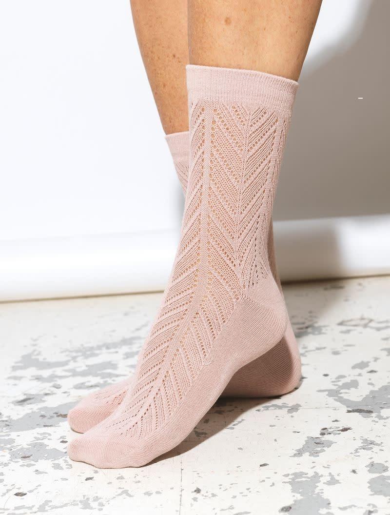 Beck Söndergaard Twine Merlina sock - Adobe rose 37/39