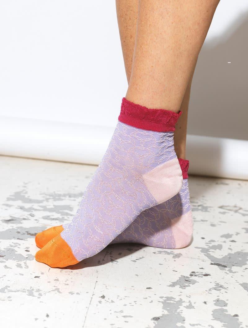 Beck Söndergaard Poppie Sibia sock - Lavender 37/39