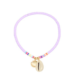 With love Anklet beach day - violet
