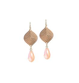 B-Jewels B-Jewels earrings Anna pink