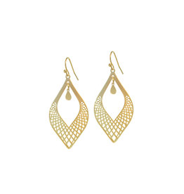 B-Jewels B-Jewels earrings Cecille gold