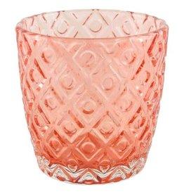 Goround Interior Votive rocky pink  7,2 x 7,2 x 7,5 cm