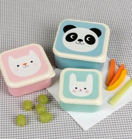 Rex London Set of 3 snack boxes Miko and friends