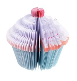 Rex London Notepad cupcake (set of 150)