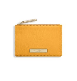 Katie Loxton Katie Loxton Alise soft pebble card holder - ochre 7.7 x 10.7 x 1.3 cm