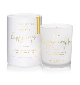 Katie Loxton Katie Loxton candle - To the happy couple - pomelo & lychee flower 160 gr.