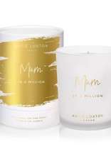Katie Loxton Katie Loxton candle - Mum in a million - grapefruit & pink peony 160 gr.