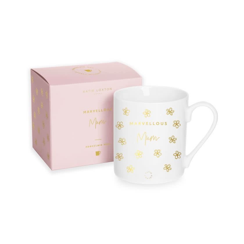 Katie Loxton Katie Loxton gift boxed mug - Marvellous mum 9.3 x 8.3 cm