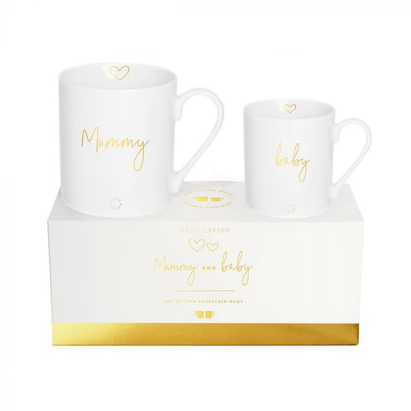 Katie Loxton Katie Loxton gift boxed mug set - Mummy and baby 9.3 x 8.3 cm