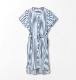 Beck Söndergaard Striped Casey long - Dusty blue