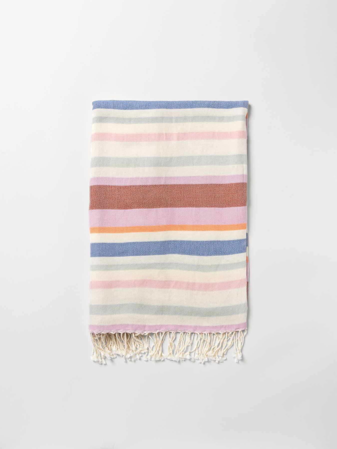 Beck Söndergaard Redwing cotton beach towel - Brownish 100 x 200 cm