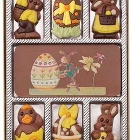 Giftbox easter chocolates 100 gr.