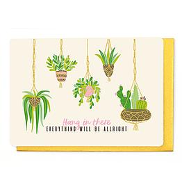Enfant Terrible Enfant Terrible card  + enveloppe 'Hang in there'