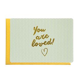 Enfant Terrible Enfant Terrible card  + enveloppe 'You are loved'