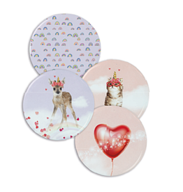 Enfant Terrible Set of 4 magnets 'Rainbow'