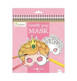 Avenue Mandarine Avenue Mandarine graffy pop masks girl