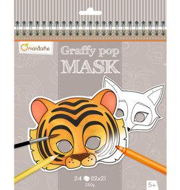 Avenue Mandarine Avenue Mandarine graffy pop masks animals