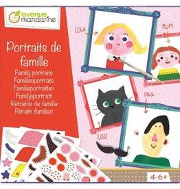 Avenue Mandarine Creative box - family portraits