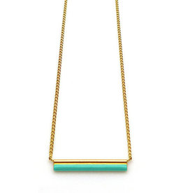 Nadja Carlotti Necklace Sparkle gold plated - Ocean
