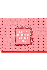 Enfant Terrible Enfant Terrible card  + enveloppe 'There is no descent card for this'