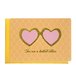 Enfant Terrible Enfant Terrible card  + enveloppe 'You are a limited edition'
