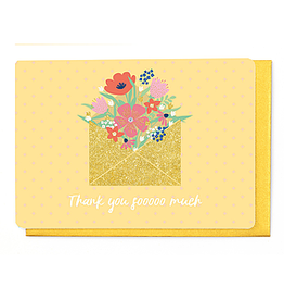 Enfant Terrible Enfant Terrible card  + enveloppe 'Thank you soooo much'