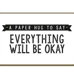 Enfant Terrible Enfant Terrible card  + enveloppe 'Everything will be okay'