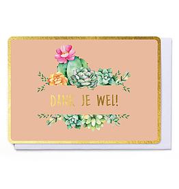 Enfant Terrible Enfant Terrible card  + enveloppe 'Dank je wel'