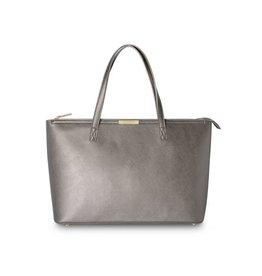 Katie Loxton Katie Loxton Haper tote bag - metallic mocha 42 x 26 cm