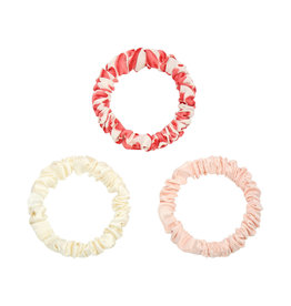 With love Hair tie - Love coral red