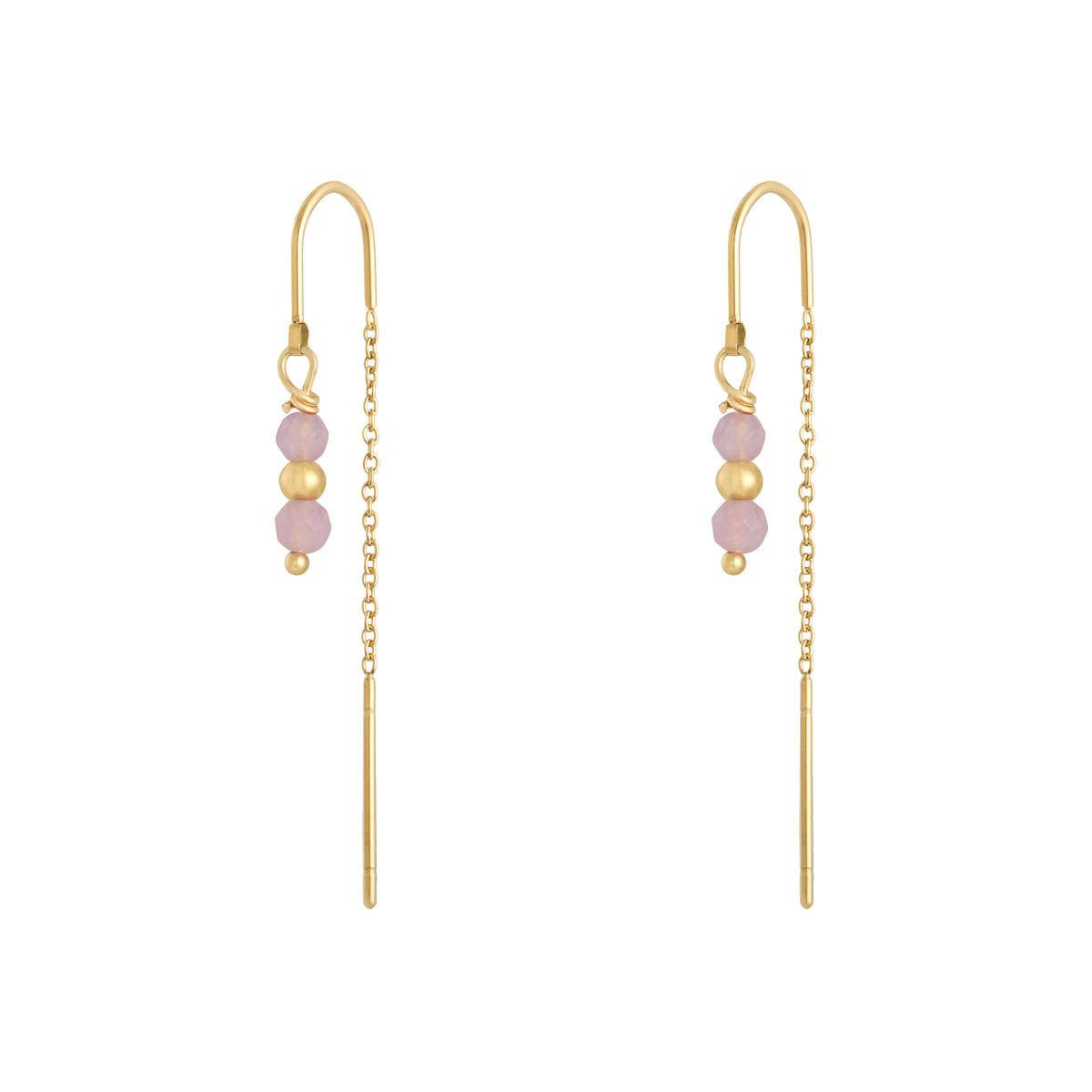 With love Earrings Argus - pink