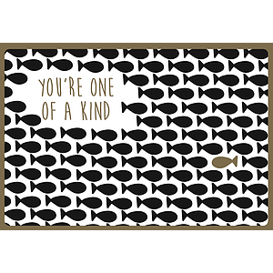 Enfant Terrible Enfant Terrible card + enveloppe 'you're one of a kind'