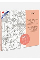 OMY Omy coloring poster 100 x 70 Dance