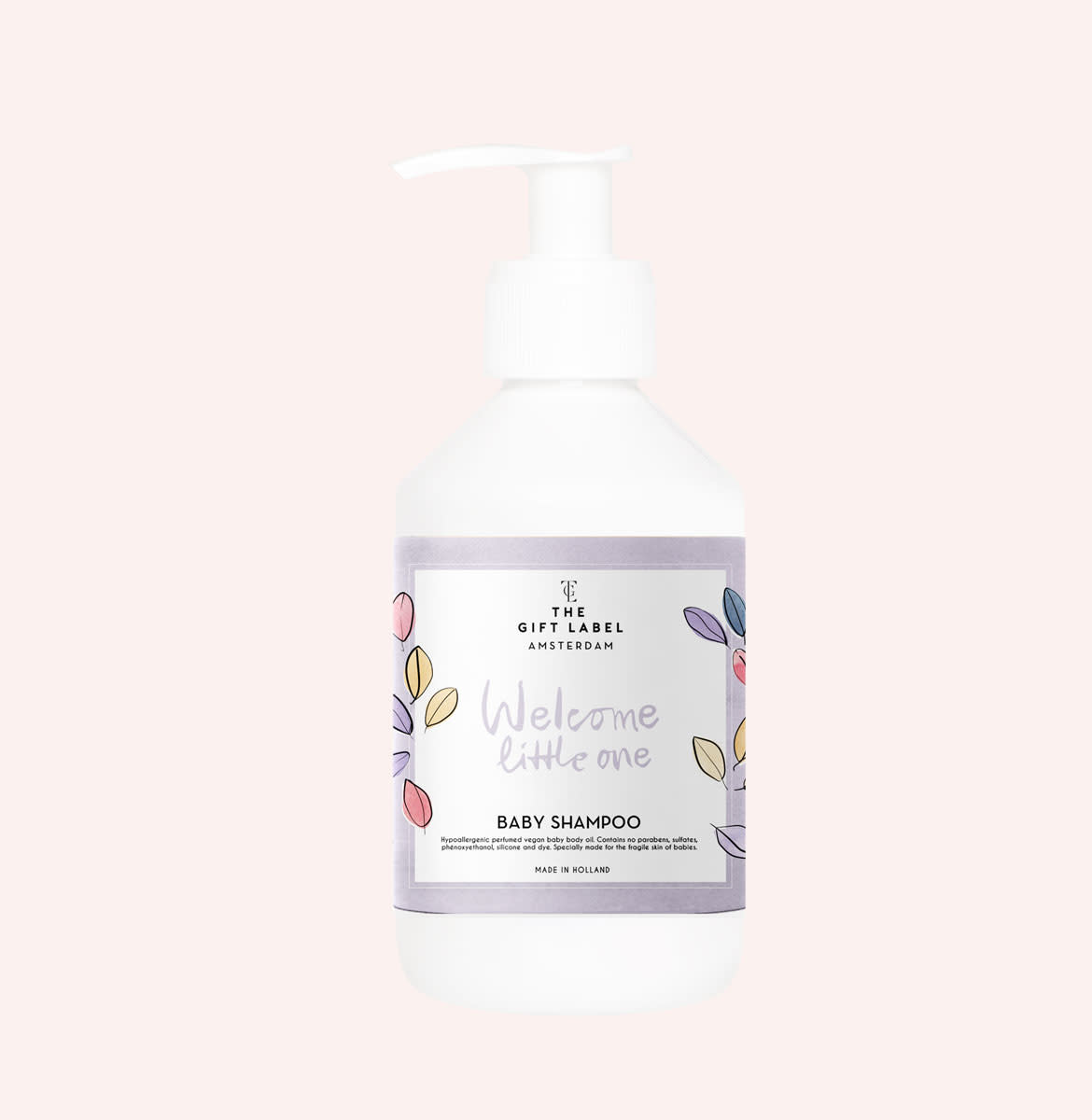 The Gift Label Baby shampoo 250 ml. Welcome little one