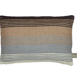 Liv Interior PET outdoor cushion Beduin multi stripes 40 x 60 cm