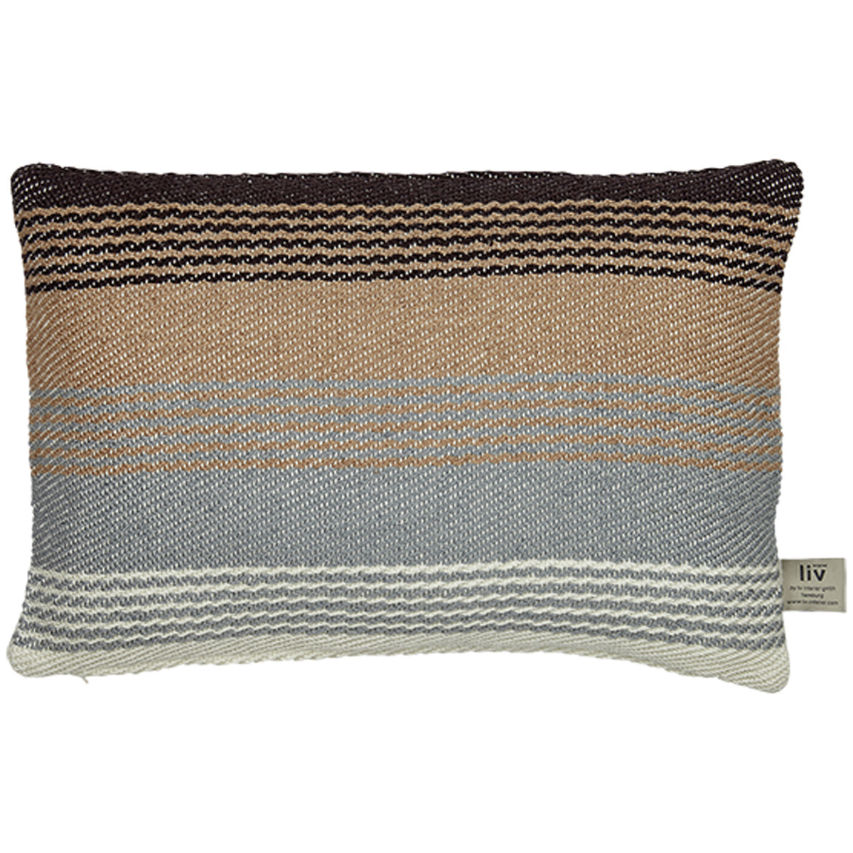 Liv Interior PET outdoor cushion Beduin multi stripes 40 x 60 cm