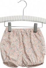 Wheat Nappy pants pleats - rose flowers