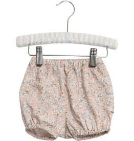 Wheat Nappy pants pleats - rose flowers