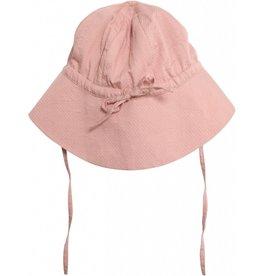Wheat Baby girl sun hat - misty rose