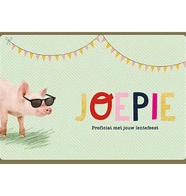 Enfant Terrible Enfant Terrible card  + enveloppe 'Joepie, proficiat met jouw lentefeest'